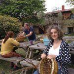 Taller de cestería en Asturias